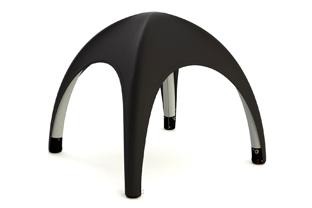 Praktische Luftzelte und Möbel von TEGO PRO