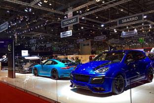 LED EXPO 310 at the Geneva International Motor Show