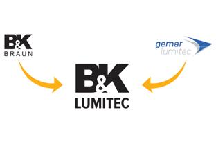 B&K Braun & Gemar Lumitec fusionieren zu B&K LUMITEC