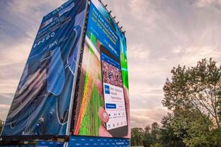 "LEDium und multi-media systeme AG bei ""Das Fest"" in Karlsruhe"