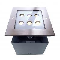LED Bodeneinbaul. 230V 6x1W WW 45° IP67