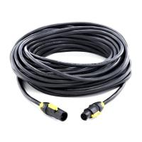 Neutrik Powercon True1 - Male to Female - Link cable 20m.