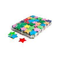 Slowfall confetti stars Ø 55mm - Multicolour