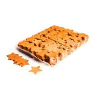 Slowfall confetti stars Ø 55mm - Orange