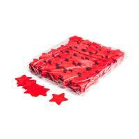 Slowfall confetti stars Ø 55mm - Red