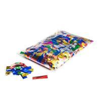 Metallic confetti rectangles 55x17mm - Multicolour