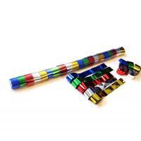 Metallic Stadium Streamers 20m x 2.5cm - Multicolour