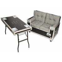Caseflex TRC Couch, 2x seat table turn-up lid
