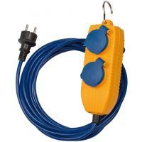 Verlängerungskabel IP44 mit Powerblock 5m blau AT-N05V3V3-F 3G1,5