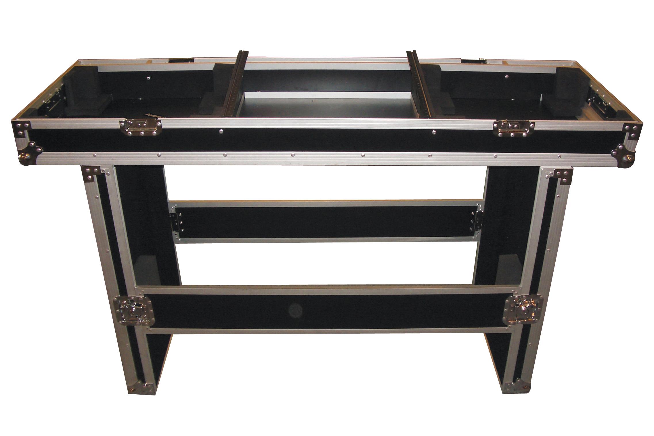 flyht pro case mobile dj desk case flightcase transportbox. Black Bedroom Furniture Sets. Home Design Ideas
