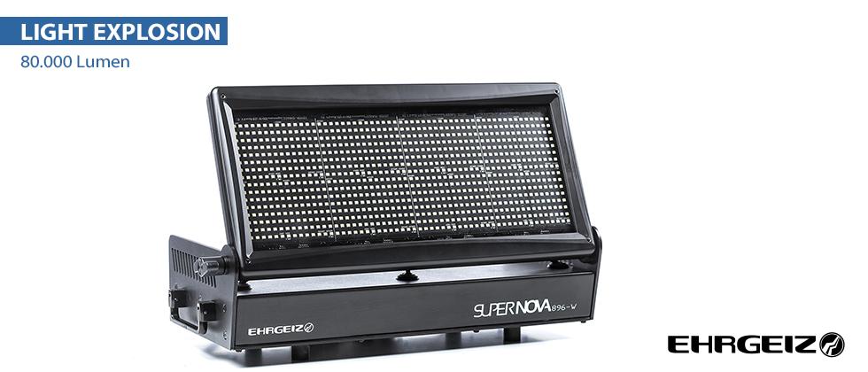 LED SUPERNOVA 896-W Stroboscope LED