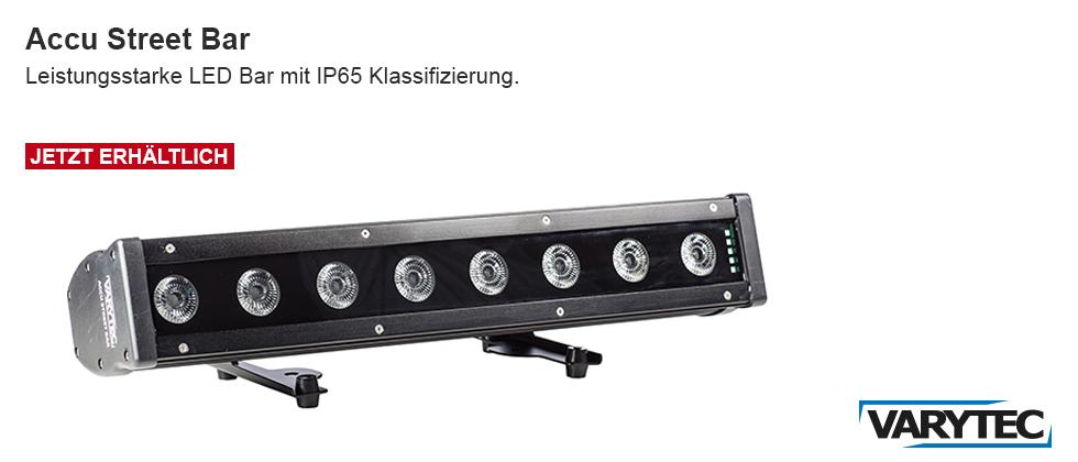 LED Accu Street Bar 8x8W RGBW IP65