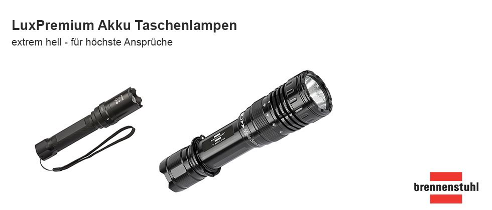 LED Taschenlampe LuxPremium Akku Selektor TL850AS