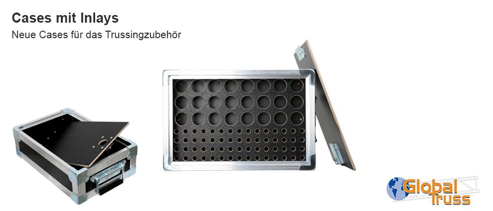 Case mit Inlay für 24x Konus + 60x Bolzen