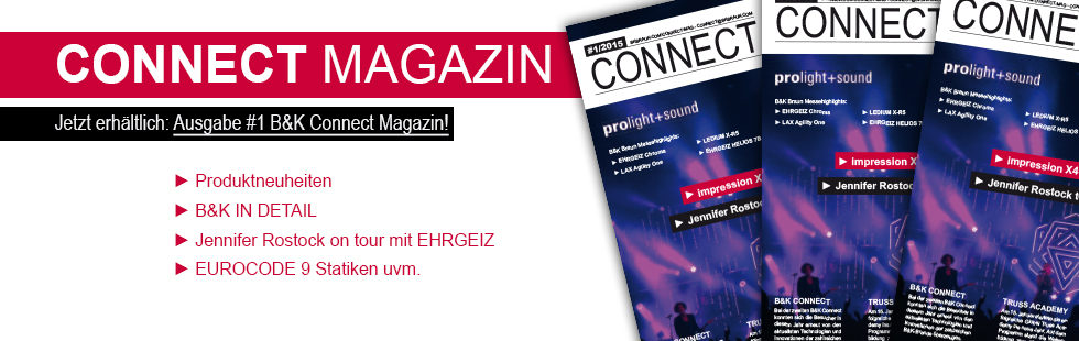 Headerbanner B&K Magazin No1