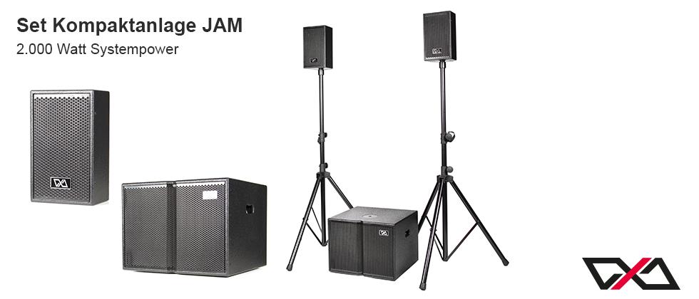 Set Kompaktanlage JAM