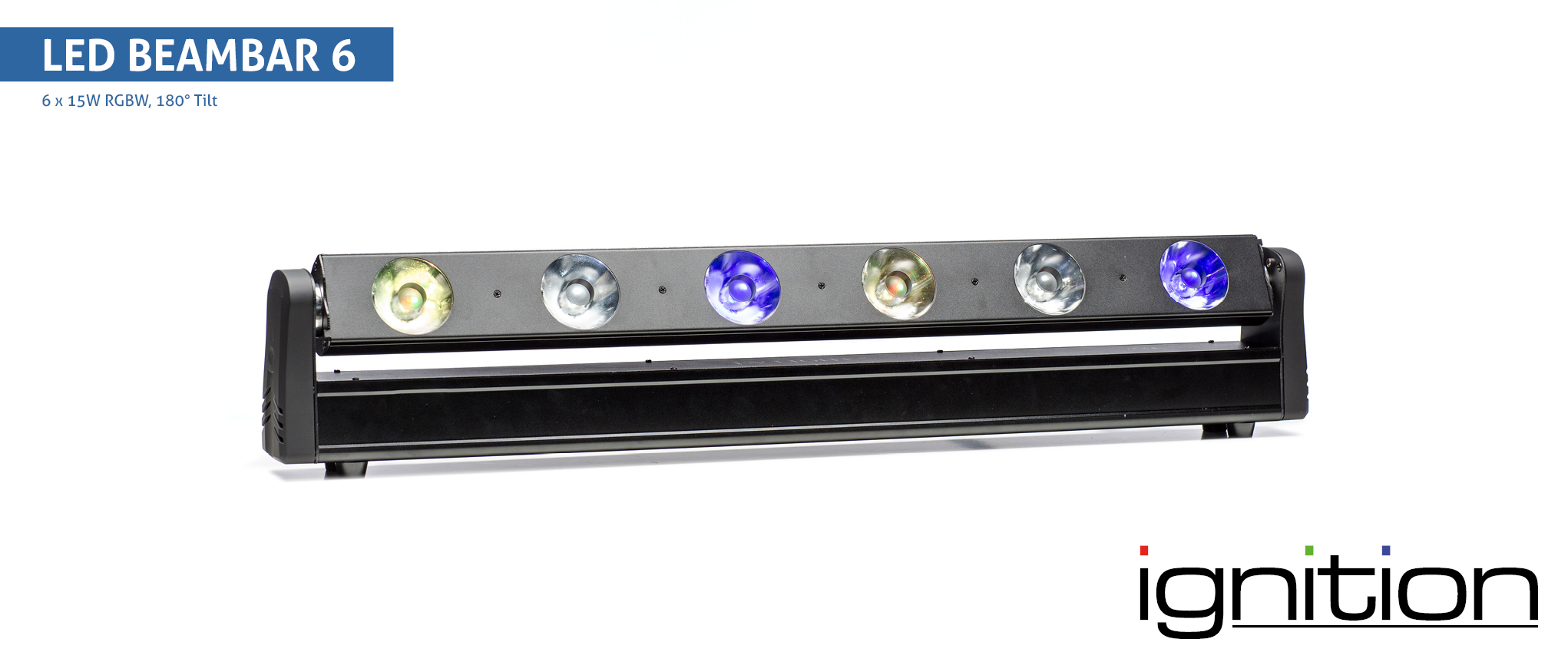 LED BeamBar 6 RGBW  6 x 15W 4in1 LED