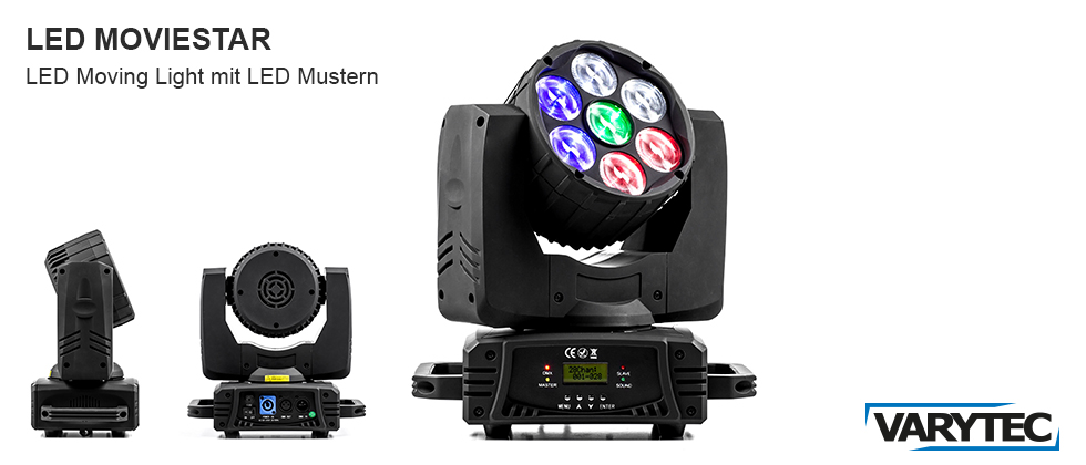 LED Moviestar RGBW