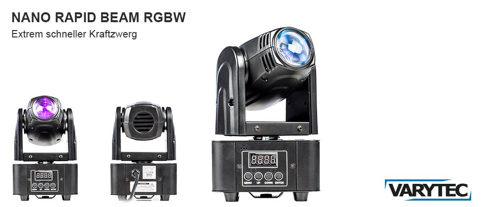 LED Nano Rapid Beam RGBW