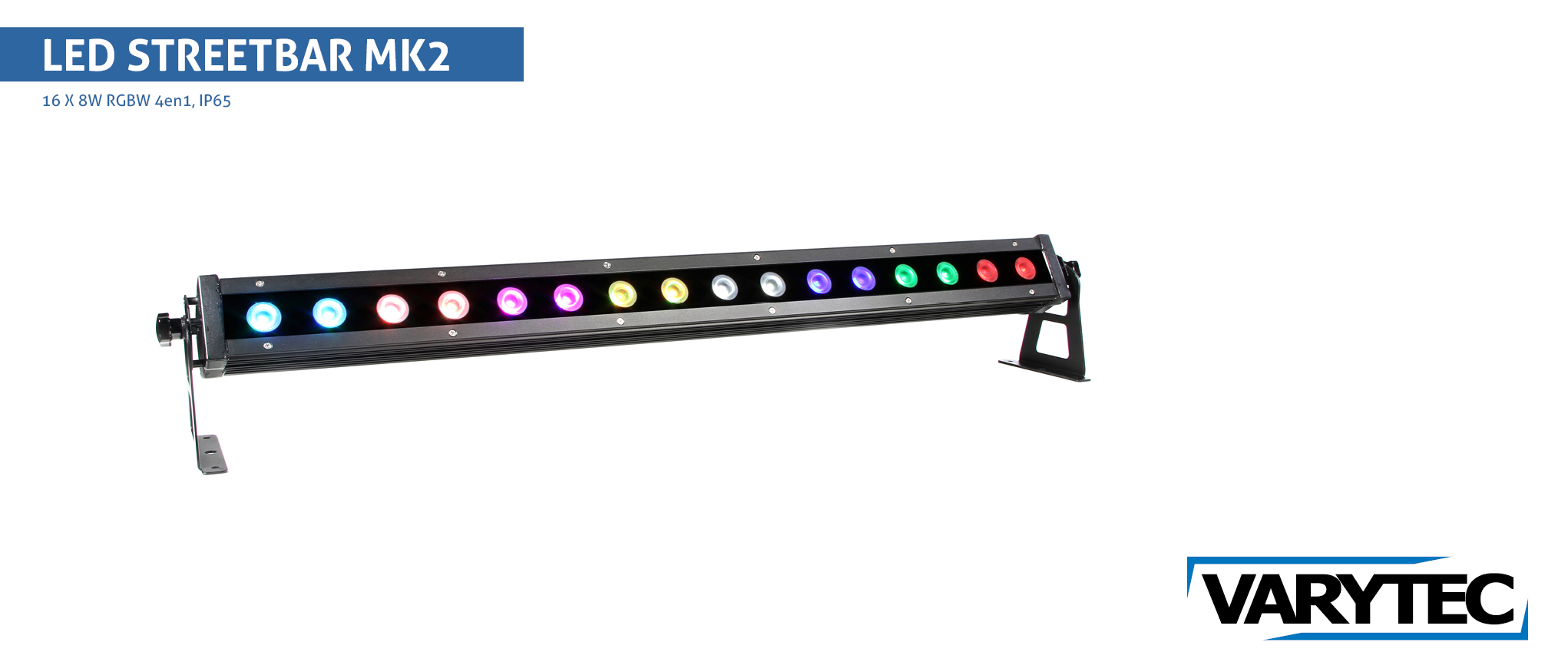 LED STREET Bar MK II  16 x 8W  RGBW  4in1  IP65  30°