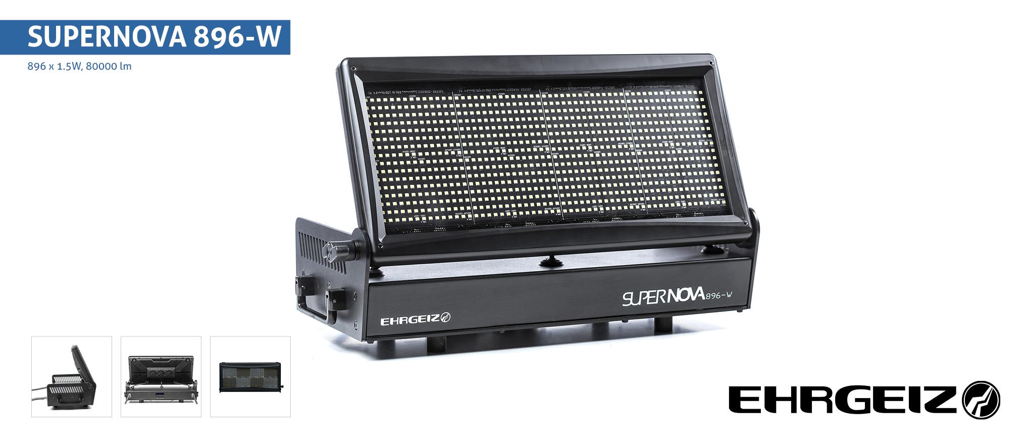 EHRGEIZ  LED SUPERNOVA 896-W Stroboscope LED