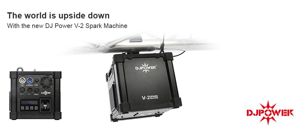 V-2 SPARK FALL MACHINE