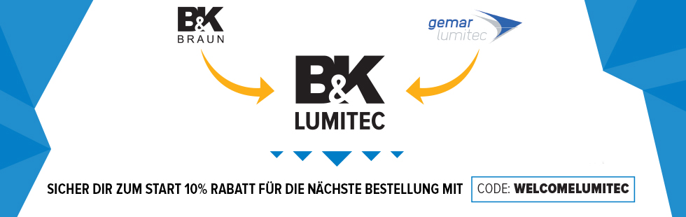 Headerbanner WELCOME LUMITEC